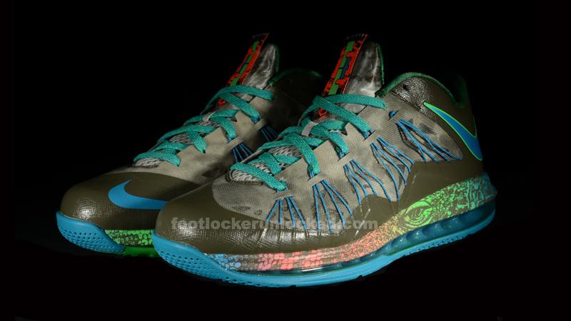 "ff60622ff27a Nike Air Max LeBron X Low ""Reptile"""