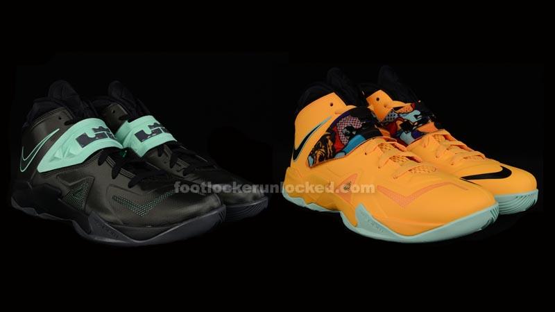 ee390b9e38ee Nike LeBron Zoom Soldier VII – Foot Locker Blog