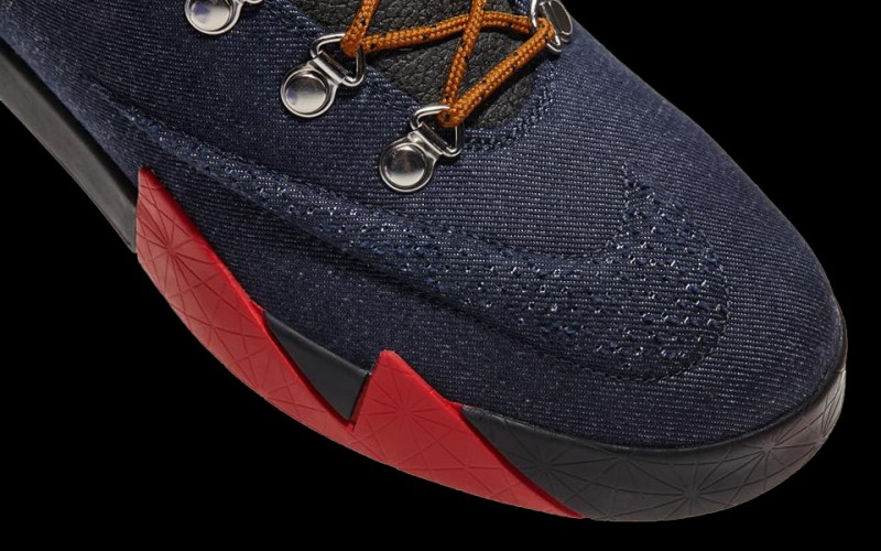 Nike KD 6 NSW Durant Lifestyle People's Champ Denim Brown Red