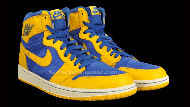 air jordan retro 1 yellow blue