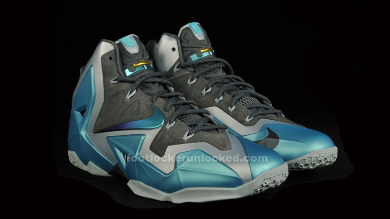 "584b2b525ce Nike LeBron 11 ""Gamma Blue"" – Foot Locker Blog"