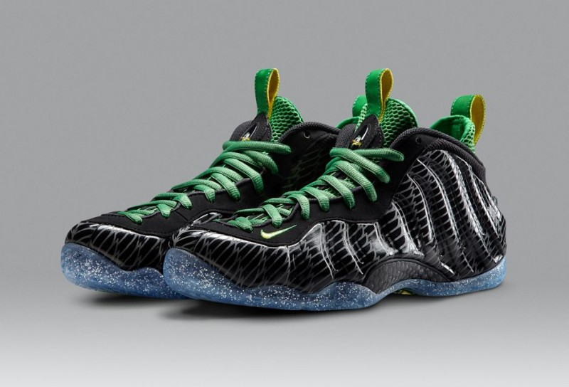 Oregon Ducks Youth Basketball Shoes
