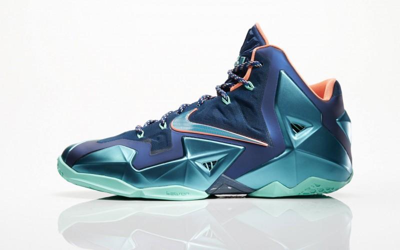"""brand new 43c8d f71aa Nike LeBron 11 """"Akron vs. Miami"""" – Foot Locker Blog"""