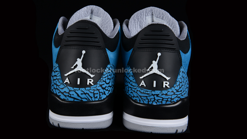 air jordan retro 3 powder blue foot locker