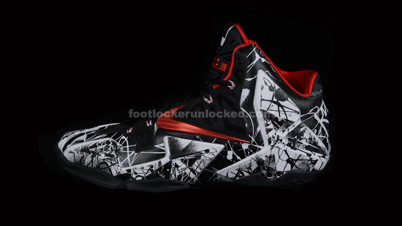 "Nike LeBron 11 ""Graffiti"" – Foot Locker Blog fac0b536b"