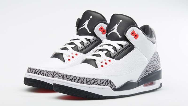 Air Jordan Retro 3 Gsp Infrarouge
