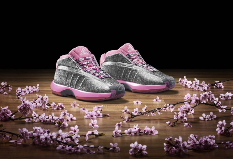 """on sale 3ed20 2430e adidas Crazy 1 Lillard and Wall """"Florist City"""" Collection –"""