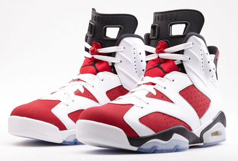 air jordan 6 carmine footlocker near