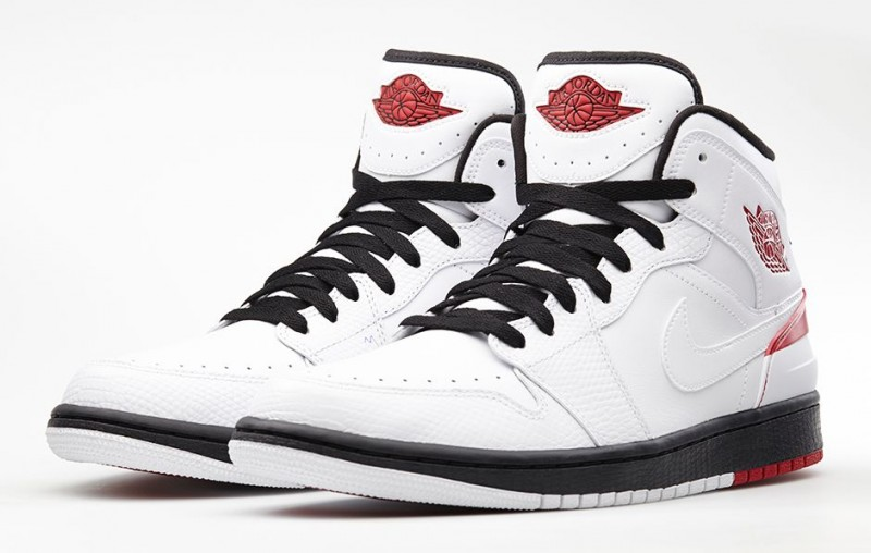 air jordan 1 retro 86 white/gym red-black