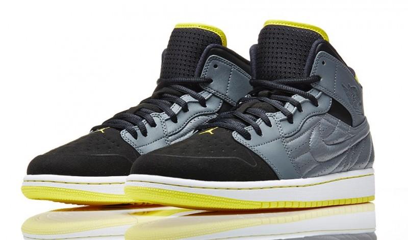 FL Unlocked Air Jordan 1 Retro 99 Vibrant Yellow 01 02