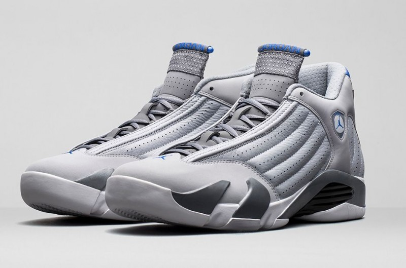 Mens Jordan 14 Retro White/Sport BlueShoes_a1284