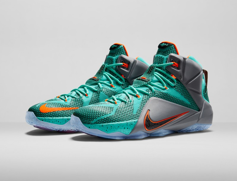 nike lebron 12 data footlocker