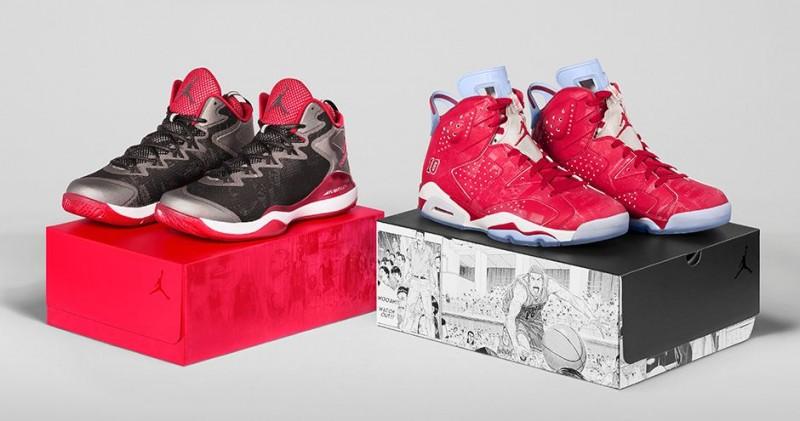 ac1c1d2b2866b Jordan X  Slam Dunk  Collection Release Details – Foot Locker Blog