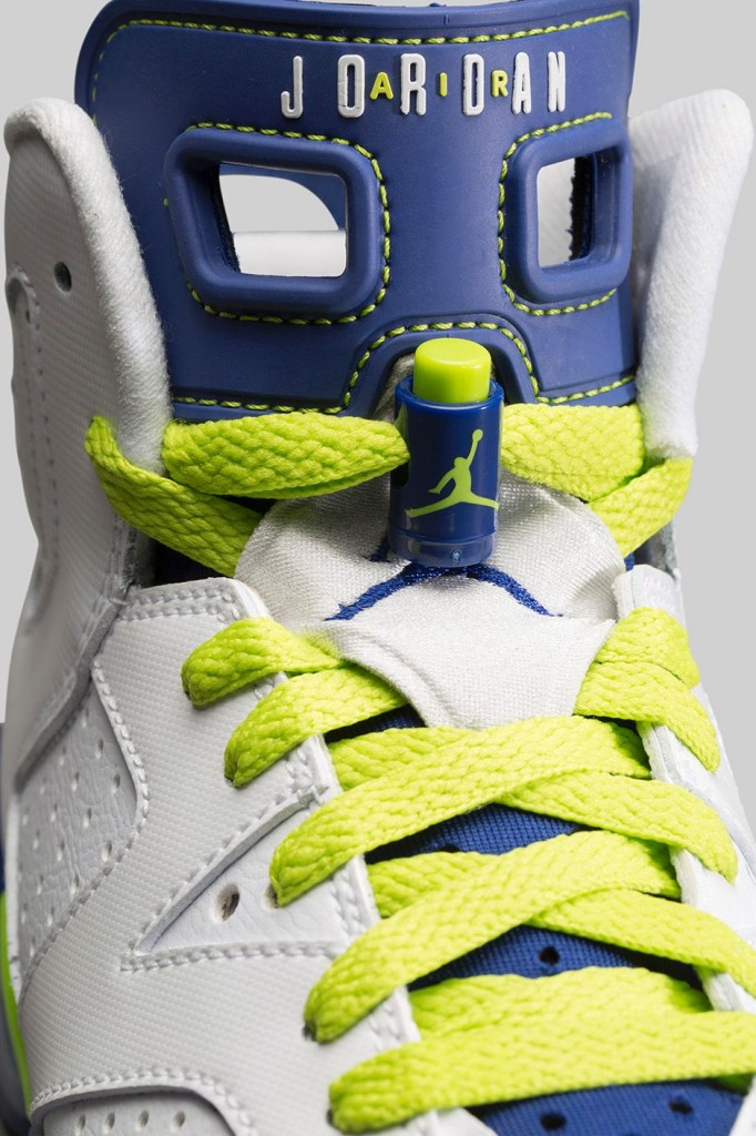 detailed look f6229 f5618 FL Unlocked FL Unlocked Kids Air Jordan 6 Retro Fierce Green 05. Tags - air  jordan, fierce green, jordan, kids, retro 6