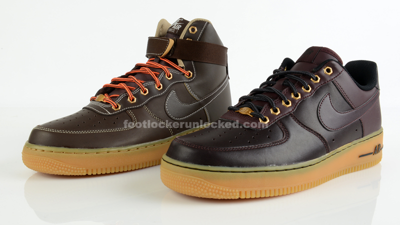 "Nike Air Force 1 ""Winter Workboot"" Pack"