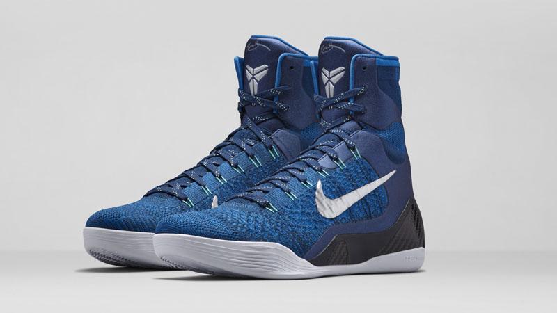 Kobe IX Elite Blau Schwarz
