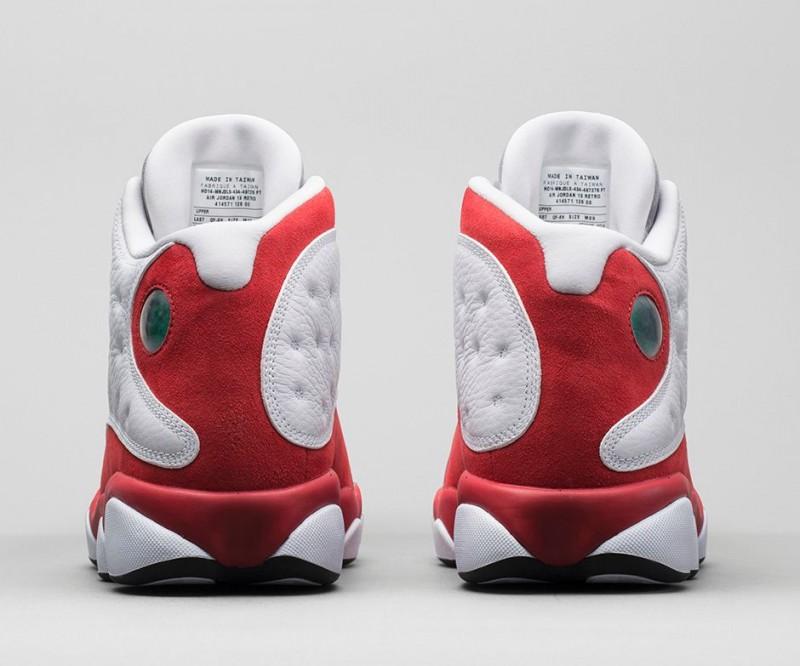 1998 Air Jordan 13 Pieds Gris Sur Pieds