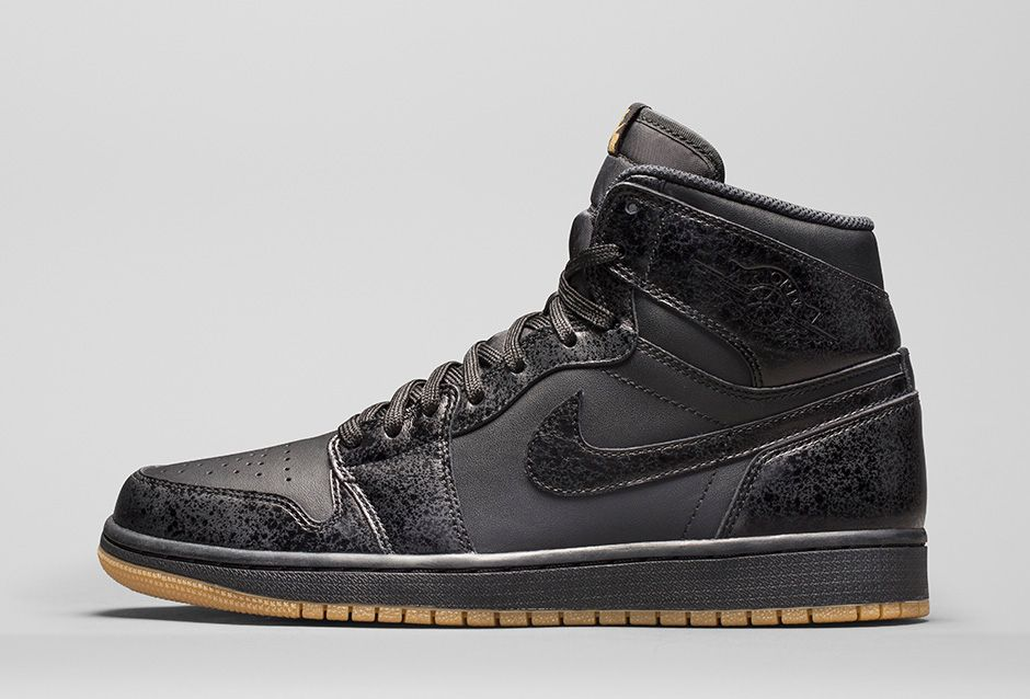 nike air jordan 1 retro og black gum disease