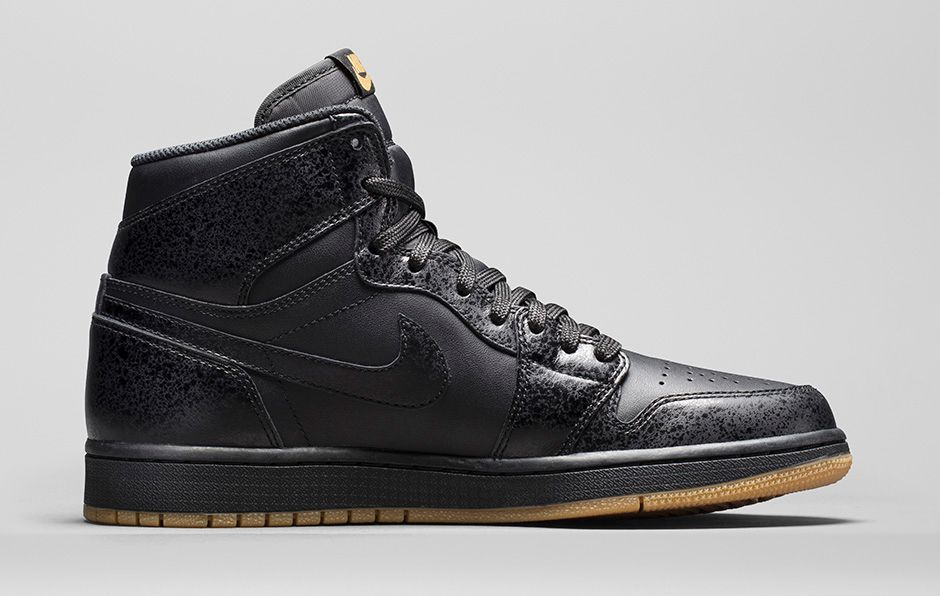 Nike Air Jordan Rétro Maladie Haute Og Gomme Noire