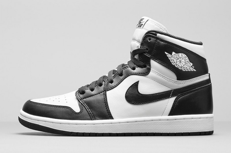 air jordan 1 high og black and white for sale
