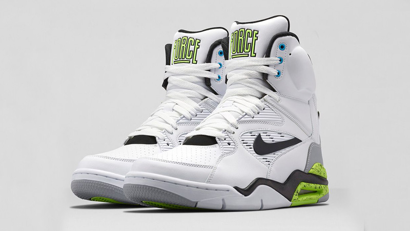 nike air command force red white and green