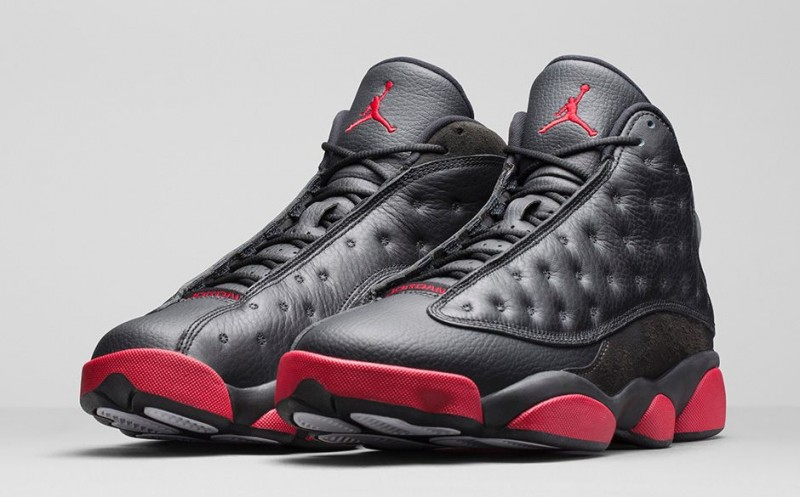 foot locker air jordan 13 bred michael