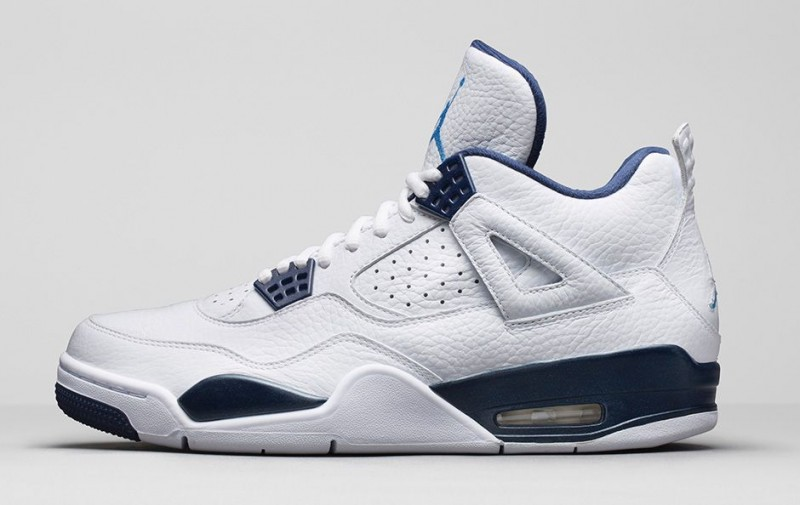 Air Jordan 4 Légende Footlocker Bleu