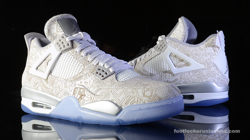 Air Jordan 4 Heures De Laser Footlocker