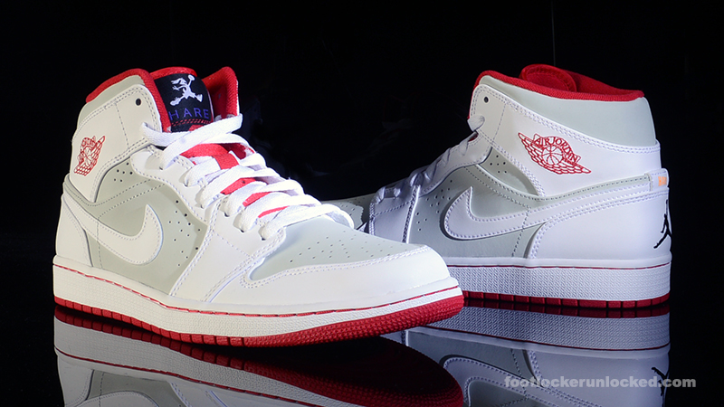 air jordan 1 mid hare champs shoe