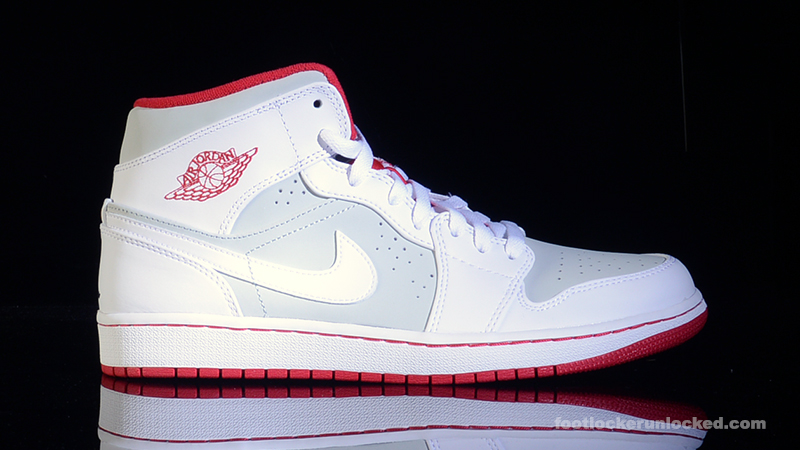 Pied Casier Air Jordan 1 Mi