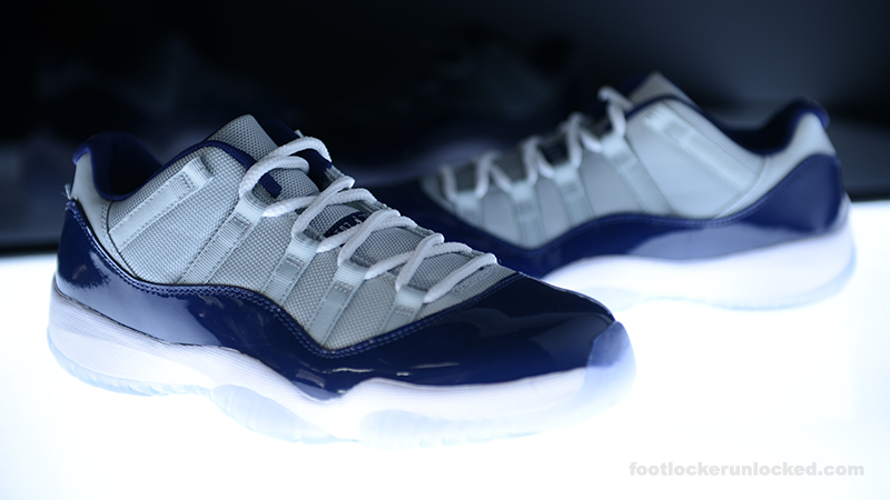 womens air jordan retro 11 blue grey