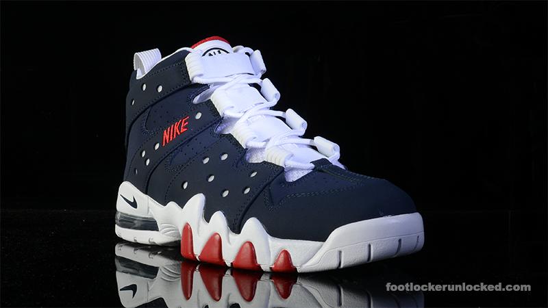 Nike Air Max2 Cb 94 Rouge Obsidienne Et Gymnase