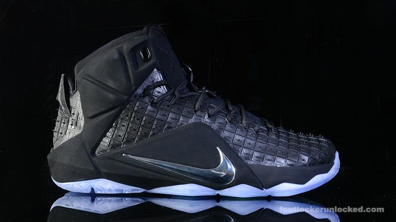 Foot-Locker-Nike-LeBron-12-EXT-Rubber-City- ...