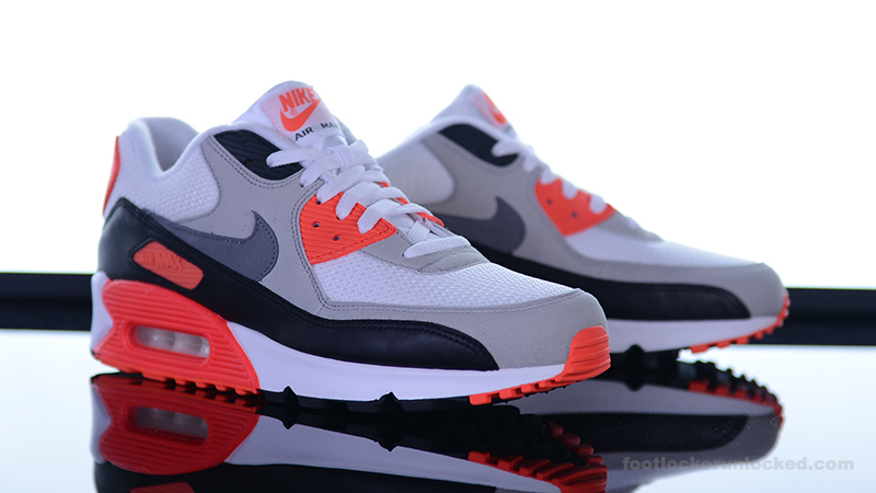Nike Infant Air Max 90 OG Infrared Trainer CP534
