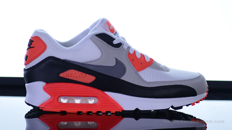 Air Max 90 Infrarouge Local À 2015 Pieds