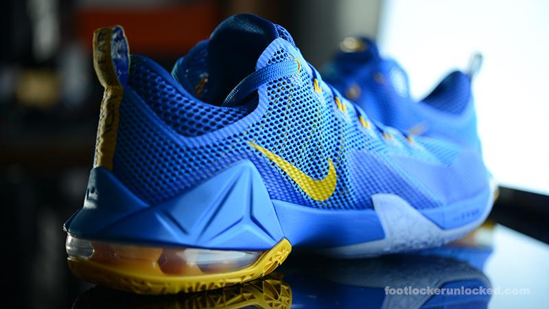 b3b8252aedb67 Nike LeBron 12 Low Photo Blue – Foot Locker Blog