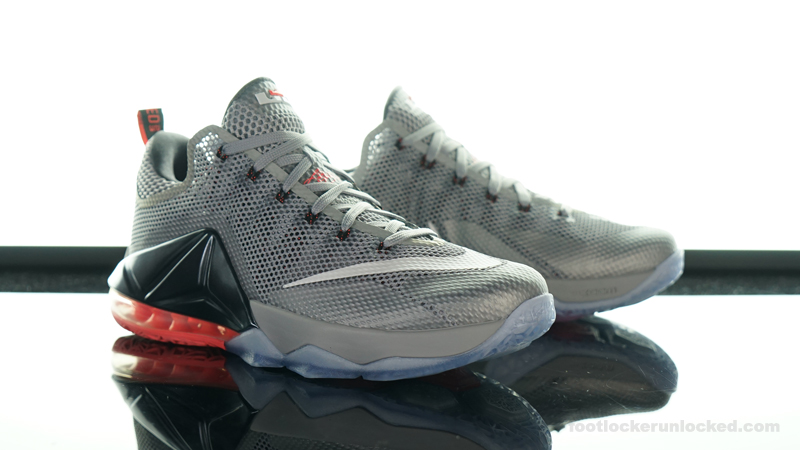 Sale Nike Lebron 12 Low - Blog 2015 06 03 Nike Lebron 12 Low Wolf Grey