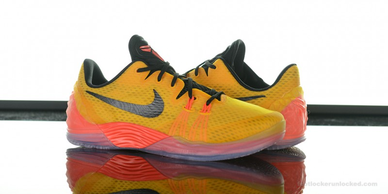 Nike Kobe Venomenon 5 Yellow Black Orange Shoes