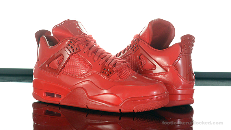 foot locker air jordan 11lab4 red