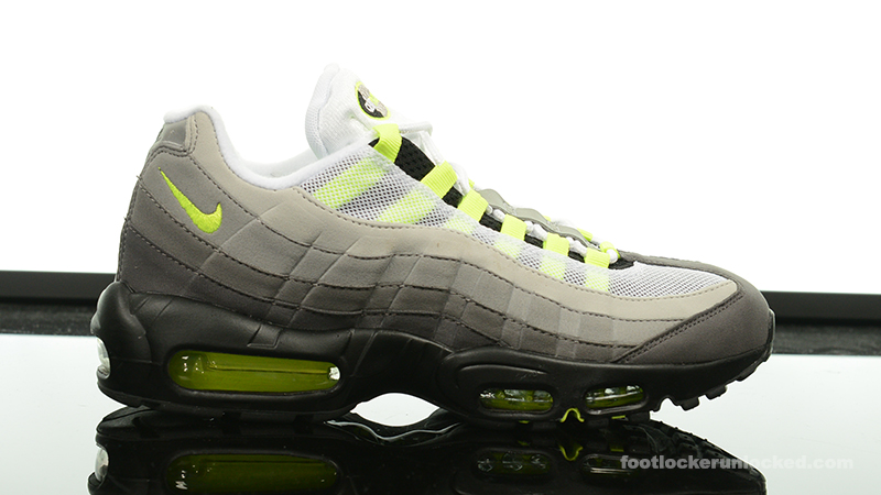 Nike air max 95 dynamic flywire on feet