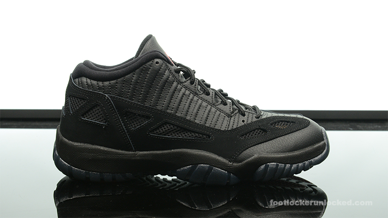 air jordan 11 low black