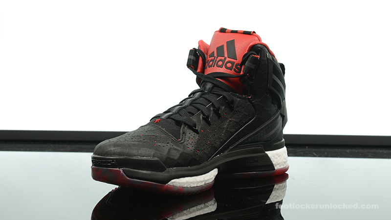 adidas d rose 6 on foot