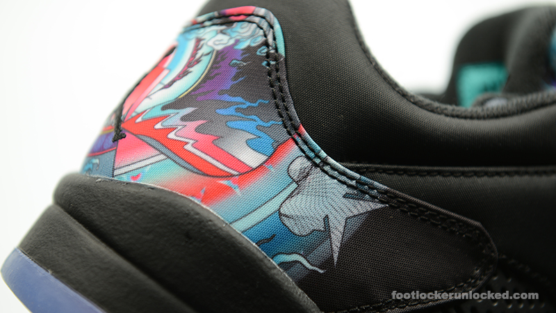 Air Jordan 5 Nouvelle Année De Footlocker Chinois