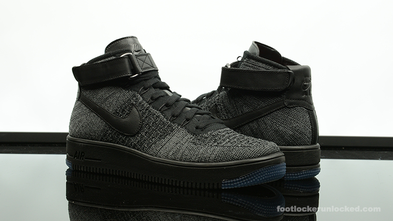 nike air force 1 ultra flyknit black
