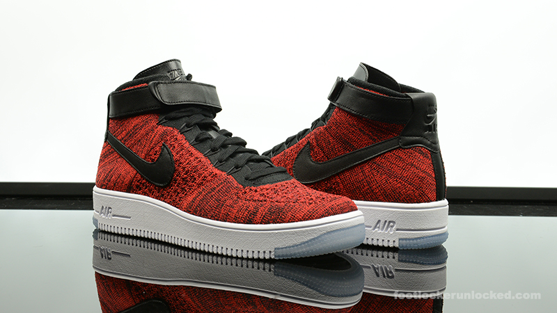 nike air force 1 ultra flyknit red