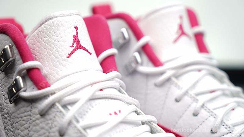 Girls Air Jordan 12 Retro \u201cVivid Pink\u201d \u2013 Foot Locker Blog