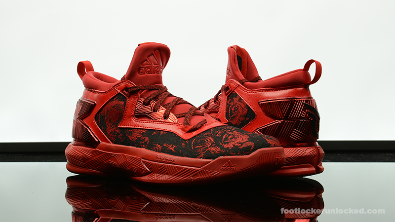 lillard shoes red