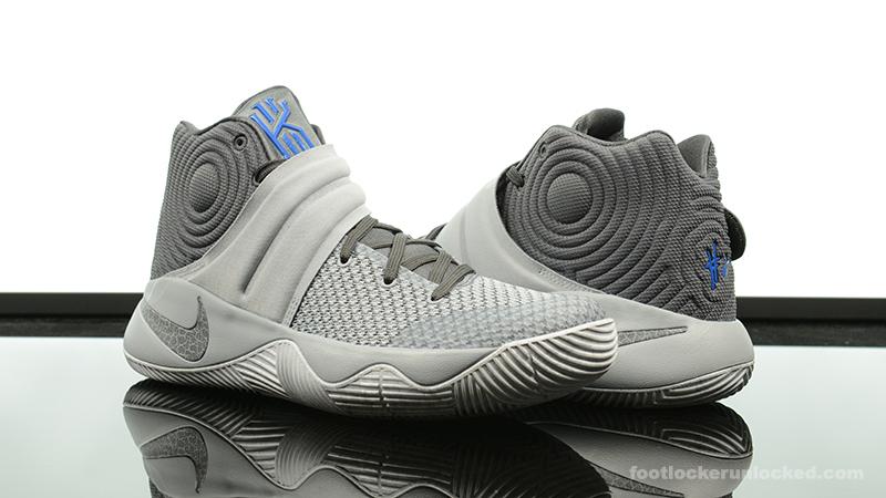 Nike Kyrie 2 II Wolf Grey/Blue-BlackShoes_a0551