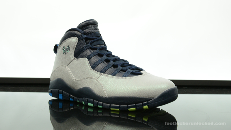 "2091a0690c9653 Air Jordan 10 Retro ""Rio"" – Foot Locker Blog"