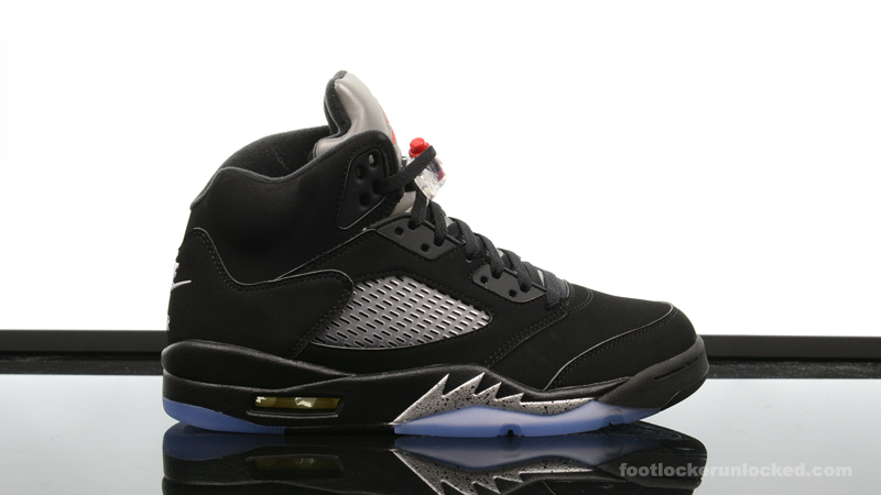air jordan 5 metallic black